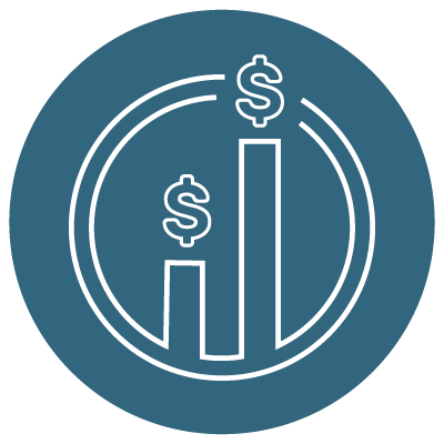 PS Capital Bar Graph Icon